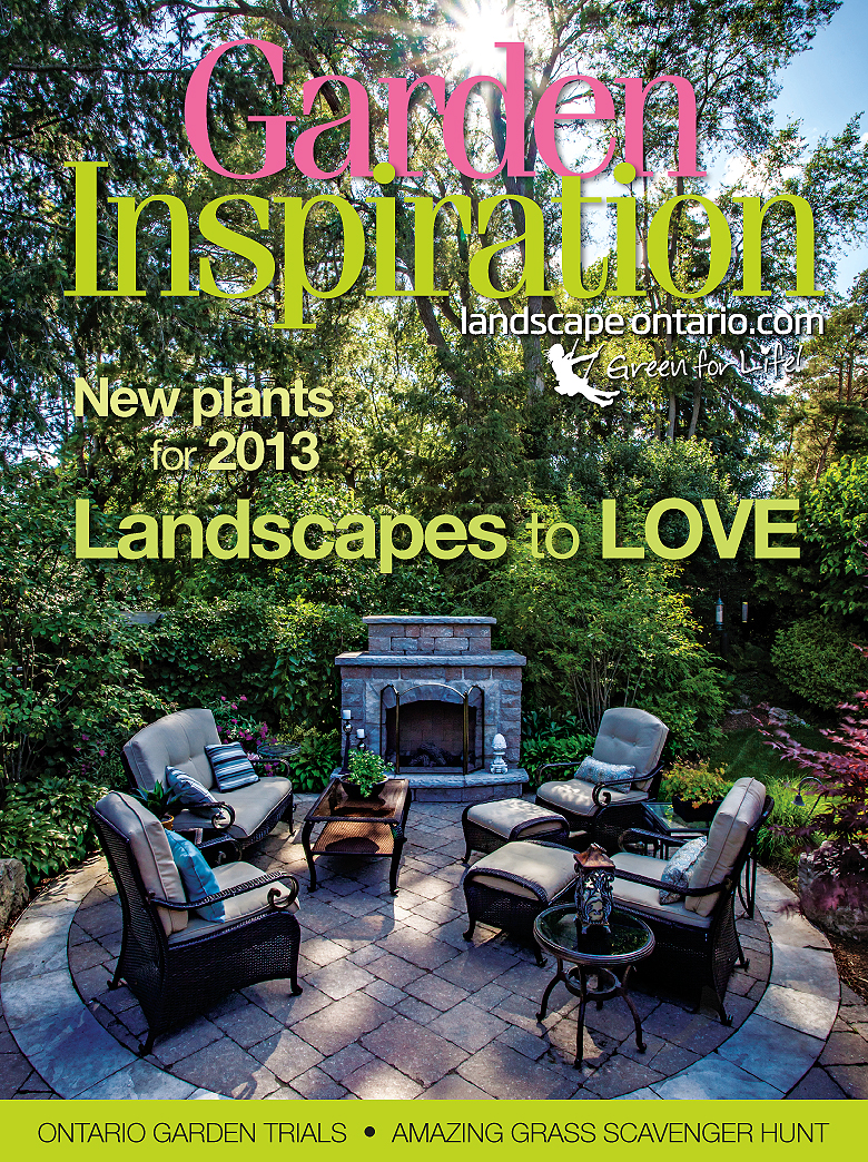 Garden Inspiration magazine cover March 2013