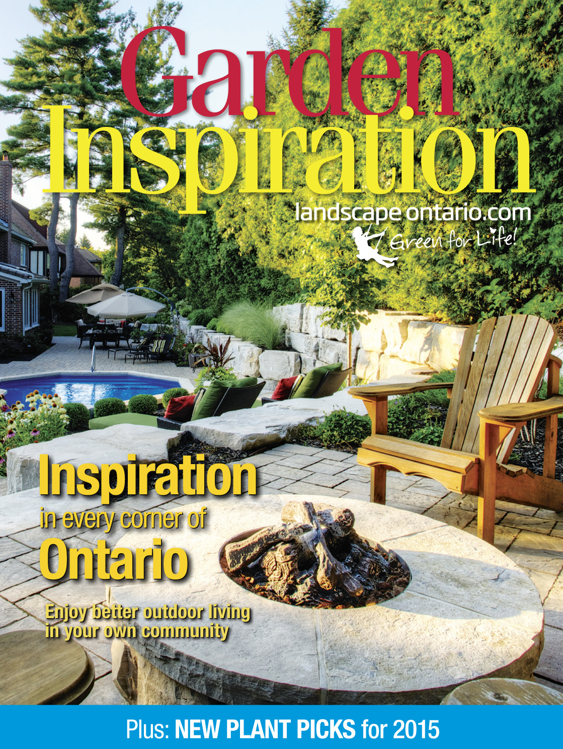 Garden Inspiration magazine cover March 2015