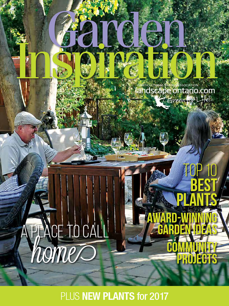 Garden Inspiration magazine cover March 2017