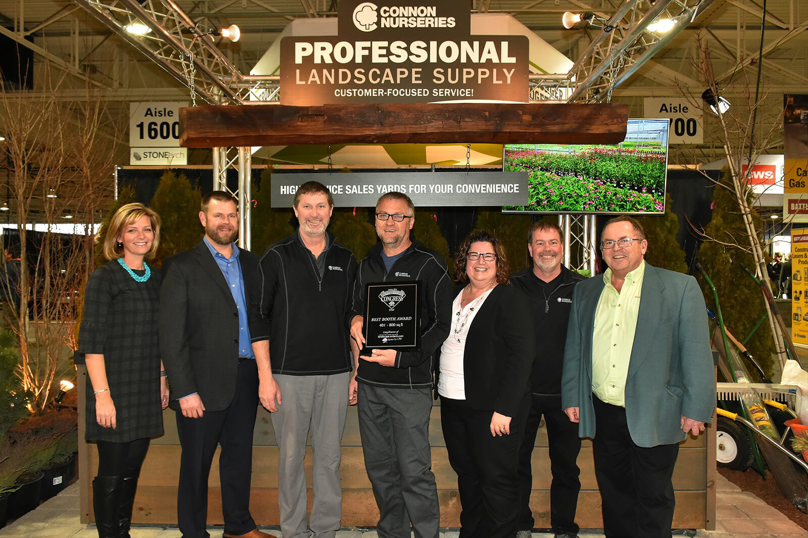 Congress 2018 best booth winners - Landscape Ontario