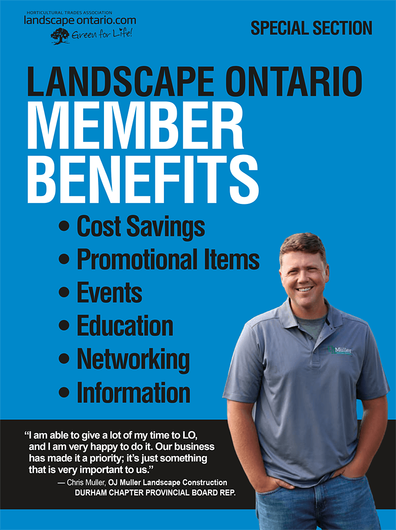 Landscape Ontario member benefits special section