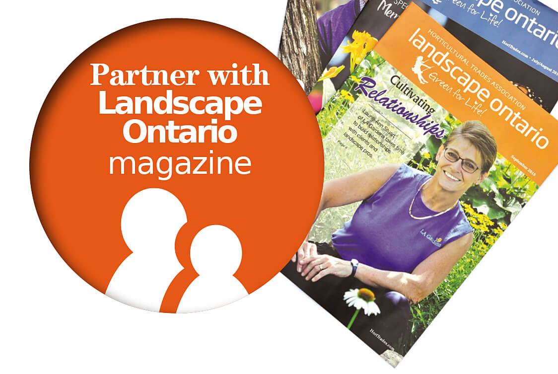 partner with landscape ontario magazine