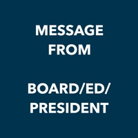 message from the board, ed, president