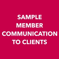 sample member communications to clients